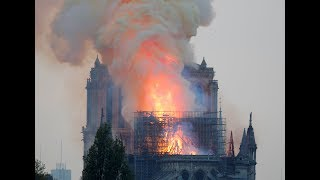WATCH LIVE: A fire has broken out at Notre Dame Cathedral in Paris.
