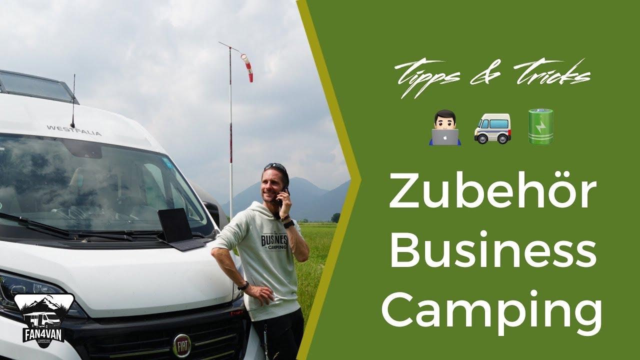 Wohnmobil Zubehör für Businesscamping - Meine Tipps und Tricks