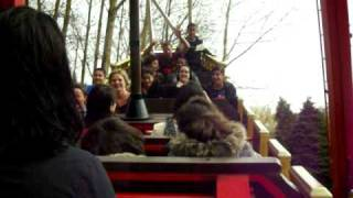 pirate ship at camelot themepark jafer omar and me!!