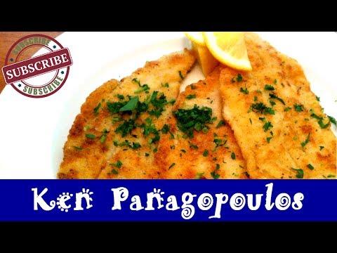 Baked Filet Of Sole   Lightly Breaded W/ Parmesan