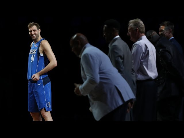 FULL CEREMONY | The Dallas Mavericks & NBA Legends Honor Dirk Nowitzki | April 9, 2019