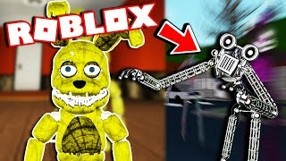 NEW ENDOSKELETON GAMEPASS ANIMATRONIC! - Aftons Family Diner - FNAF Roblox Roleplay