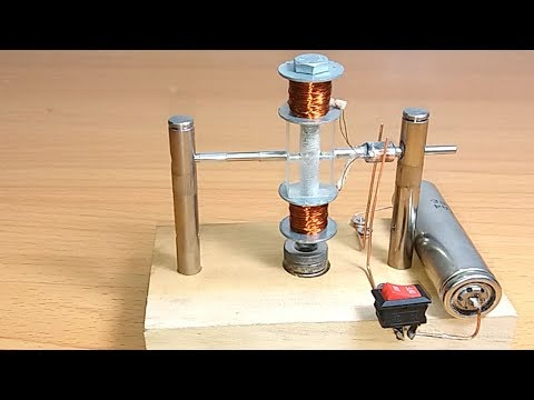 Science School project , Easy way to create DC motor , For Education , Electrician