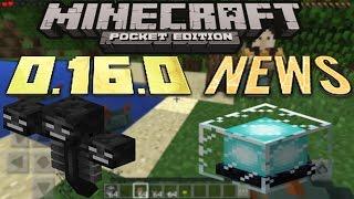 Minecraft: Pocket Edition 0.16.0 NEU: Leuchtfeuer & Wither [UPDATE-VORSTELLUNG] [Deutsch/FullHD]