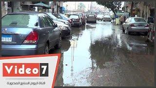 """الأمطار تحول شوارع القاهرة والجيزة لـ """"برك مياه"""""""