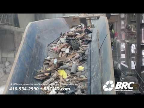 Baltimore Recycling Center Plant Tour