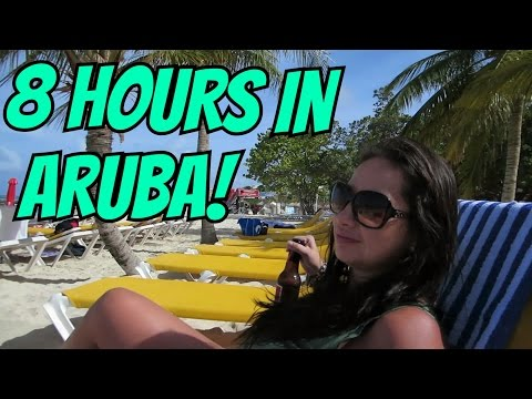 Our Cruise Stop in Aruba