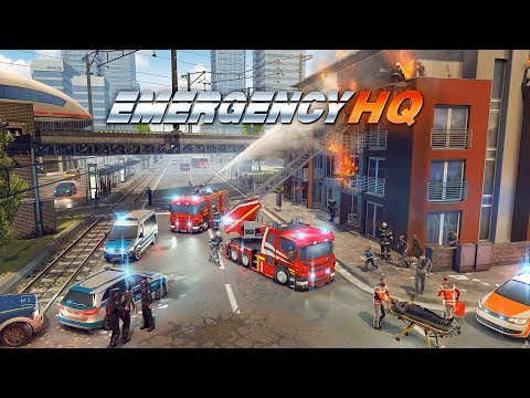 EMERGENCY HQ  the new free EMERGENCY mobile game!
