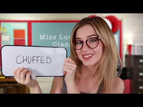 ASMR Teaching You 25 Fun English Phrases