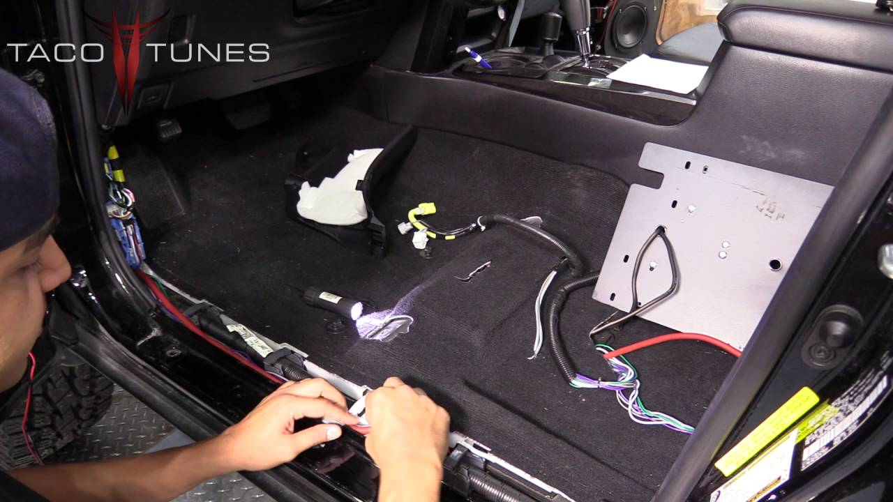 For Car Speakers To Amp Wiring Diagram Toyota 4runner How To Install Amplifier Power Wire From