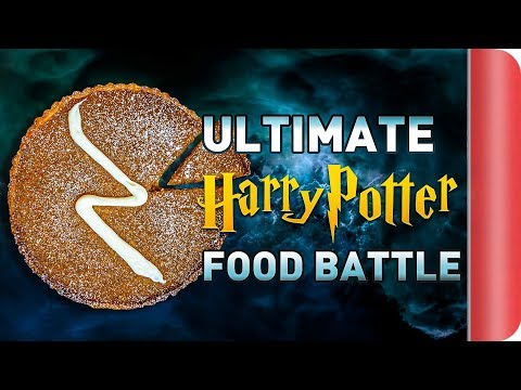 THE ULTIMATE HARRY POTTER FOOD BATTLE