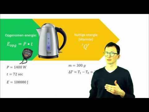 natuurkunde uitleg SOORTELIJKE WARMTE (Q = c • m • ΔT)
