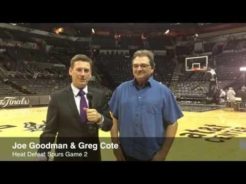 Joseph Goodman, Greg Cote recap Heat's Game 2 win in 2014 NBA Finals
