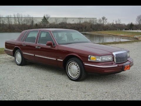 1996 Lincoln Town Car Signature Series For Sale Dayton Troy Piqua