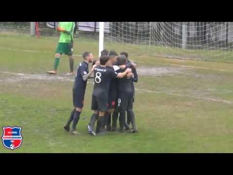 Legnano - Virtus Ciserano Bergamo 2-1, 16° giornata girone B Serie D 2019/2020