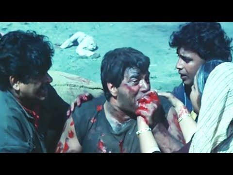 Dharmendra Sacrifice His Life | Hum Se Na Takrana | Action Scene 14/14