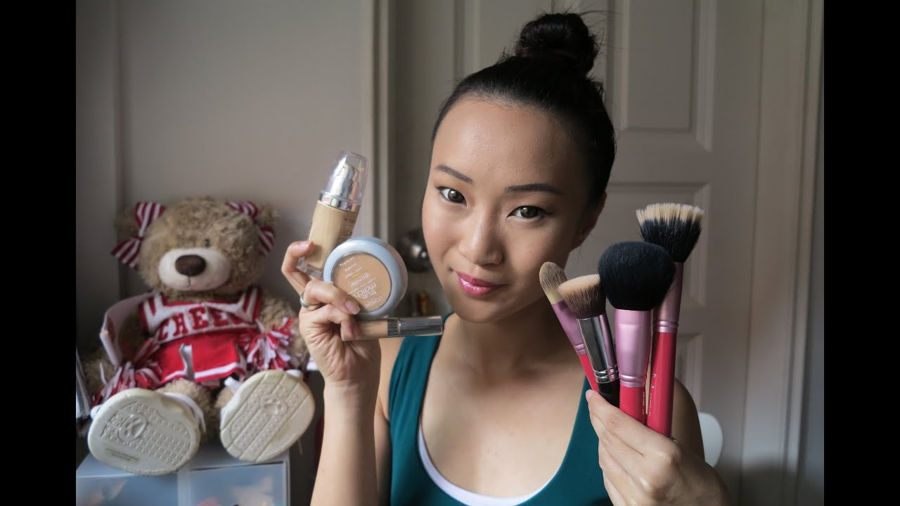 Stepbystep Basics ™� How To Apply Foundation, Concealer, Powder ™� L'oreal  True Match Series  Youtube