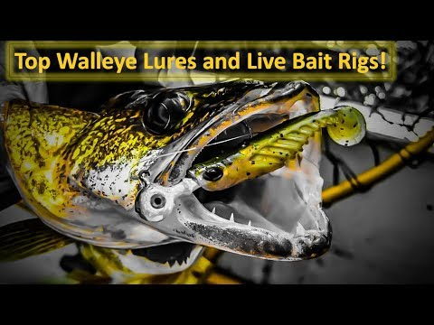 Top Walleye Lures And Live Bait Rigs