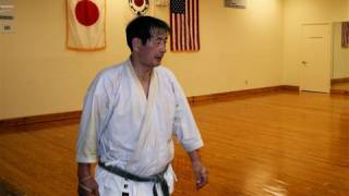 Traditional Karate Training 6 shuto-uke kokutsu-dachi
