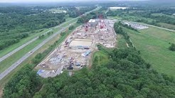 CPV Power Plant site in Slate Hill, NY circa summer 2016