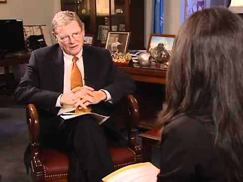 Lina Rozbih interview with Senator James Inhofe