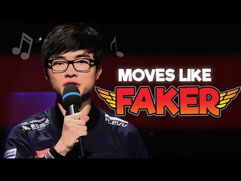 Instalok - Moves Like Faker (Maroon 5 - Moves Like Jagger ft. Christina Aguilera PARODY)