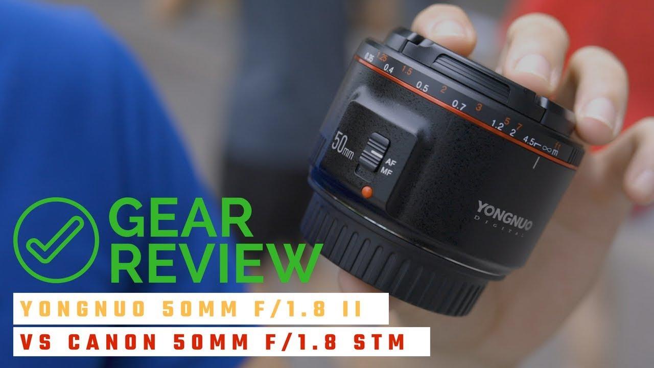 Ống kính chụp chân dung RẺ NHẤT Yongnuo 50mm f/1.8 II (có so sánh với Canon 50mm f/1.8 STM)