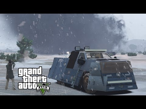 GTA 5 REAL LIFE MOD | HURRICANE HUNTERS | STORM CHASERS BREAK CURFEW TO GO STORM CHASING