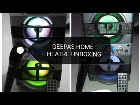 Geepas Home Theatre Speaker Unboxing Youtube