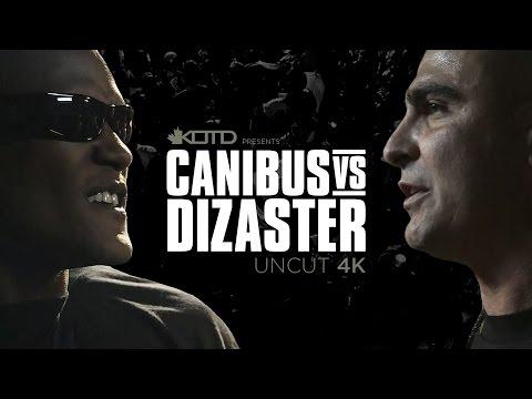 KOTD - Rap Battle - Canibus vs Dizaster *4k UNCUT*