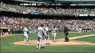 2009/04/15 Lowell's two-run homer