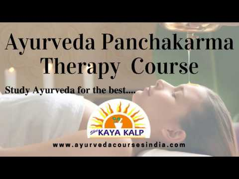 Panchakarma Training institute in India | Ayurvedic Panchakarma Therapy  Courses In India