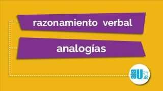 Ejercicios Resueltos #329 Analogías Examen ENES SENESCYT SNNA
