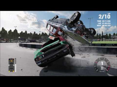 Wreckfest: Online Bangers MOD Crash Compilation