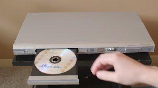 DVD Player Swallows a Disc