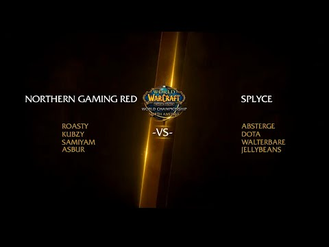 NORTHERN GAMING RED vs SPLYCE -  World of Warcraft Arena World Championship Europe 2016#1