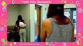 a03da35623 Hello Kitty Denim W Polka Dots Face Backpack Loungefly - YouTube