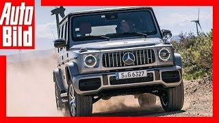 Mercedes G Klasse (2018) Erste Fahrt im G63  Review / Test / Drive