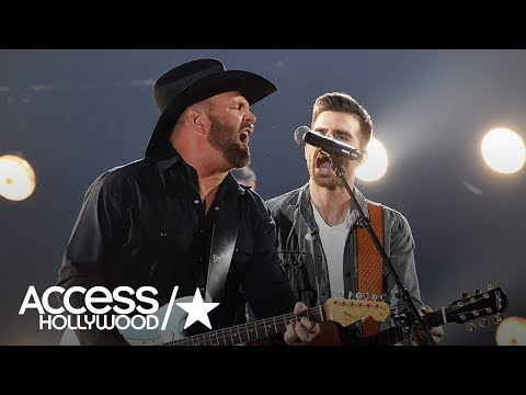 Garth Brooks Reveals Why He LipSynched At The 2017 CMAs  Access Hollywood