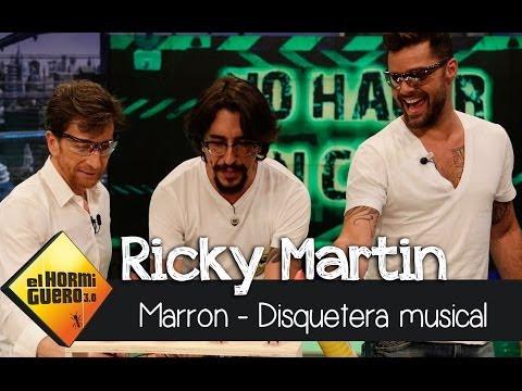 El Hormiguero 3.0 - Marron, Ricky Martin y la disquetera musical