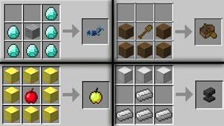 ★ Minecraft: DEĞİŞTİRİLMİŞ 10 CRAFTİNG ŞEKLİ