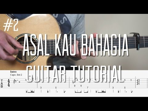 Armada - Asal Kau Bahagia - Fingerstyle Guitar Tutorial (Belajar Gitar) - Part 2  by  Mattias Krantz
