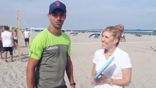Giraldo Gives Beach Tennis A Go In Delray