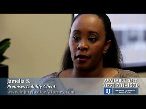 Injury Justice Law Firm - Client Testimonial Slip and Fall Accident Case