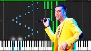 piano А белый лебедь на пруду-Лесоповал
