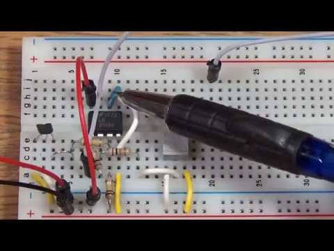 Using a Hall Effect Sensor to Make a Tachometer