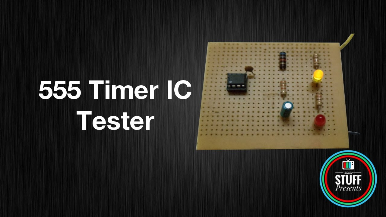 How To Make 555 Ic Tester Homemade Youtube Simple Dc Converter For Digital Circuit By