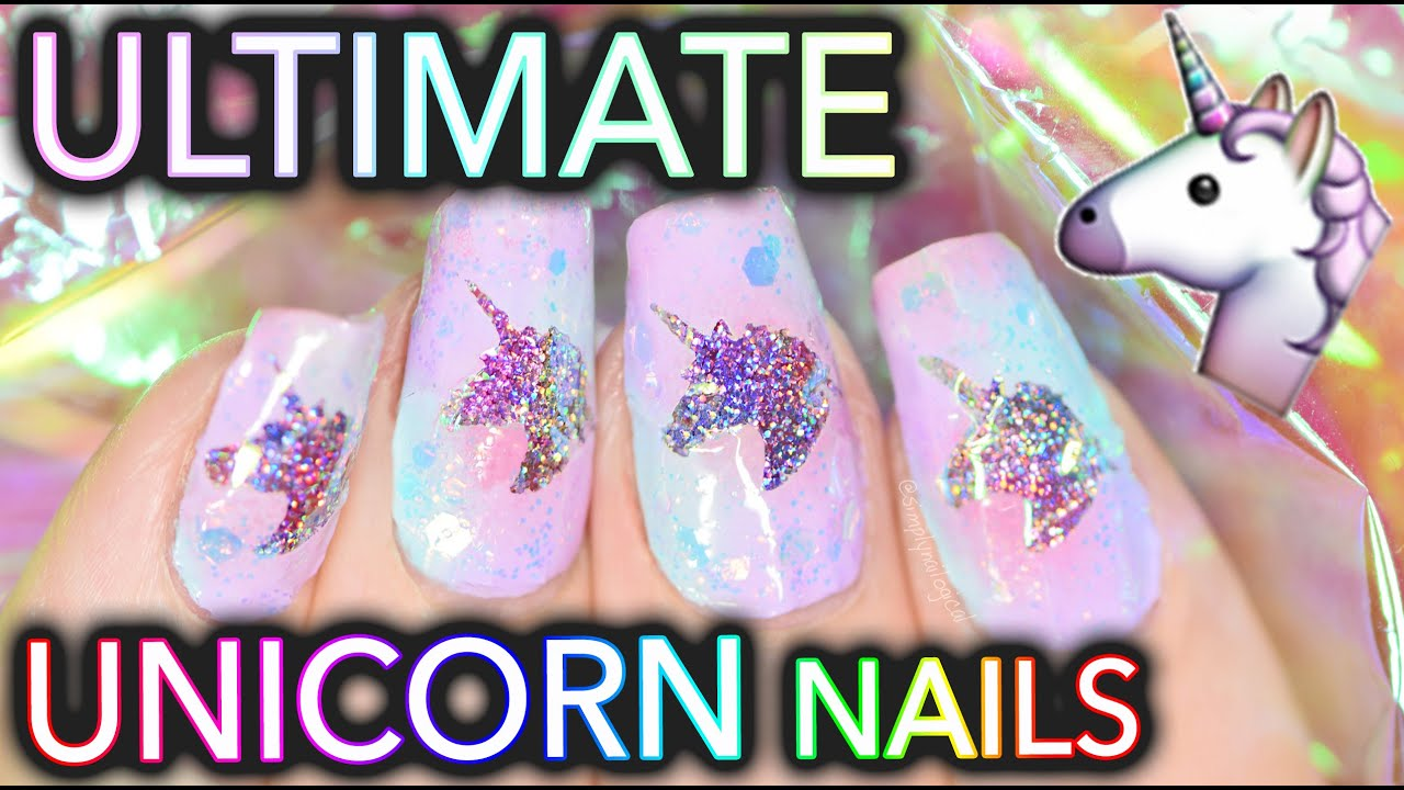 The Ultimate UNICORN Nails Unicorn Window To Your Soul