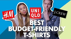 Best Budget-Friendly Men's T-Shirts For 2019