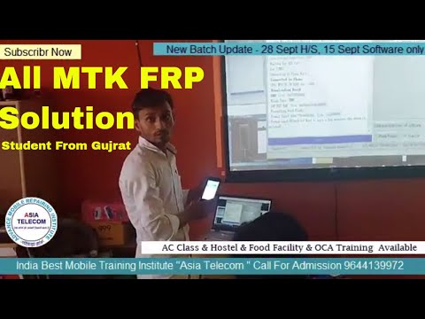 """All MediaTek FRP 1000% Solution perform by Asia Telecom Student From """"Gujrat"""" - india Best Institute"""